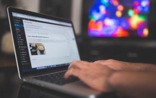WordPress Webseite wurde von WordPress Agentur erstellt
